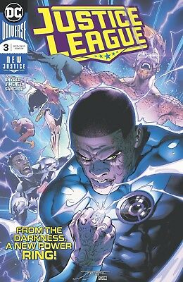 Justice League #3 DC Universe New Justice 2018 NM Main Cover A