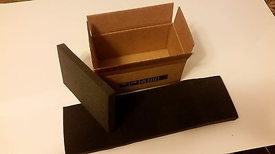 "Insulated Shipping Boxes 8''1/2x4''3/4x4''1/4. With 3/4"" Foam packaging"