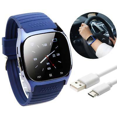 Bluetooth Fitness Smart Wrist Watch Phone Mate For Android Samsung & iPhone IOS