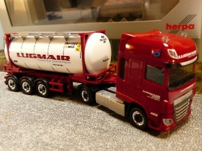 1/87 Herpa DAF XF SSC Swapcontainer SZ Lugmair AT 932240