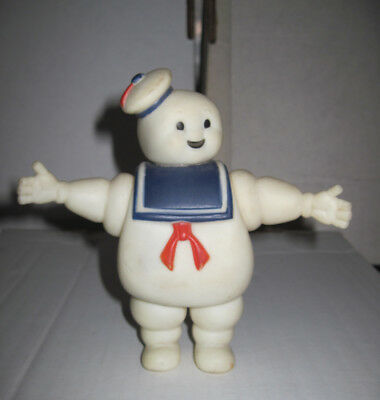 "Vintage Ghostbusters 7"" Marshmallow Man Figure Stay Puft Columbia Pictures 1984"