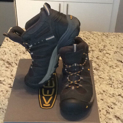 KEEN Utility Footwear men's hiking/work boots, SIZE 10, slightly used