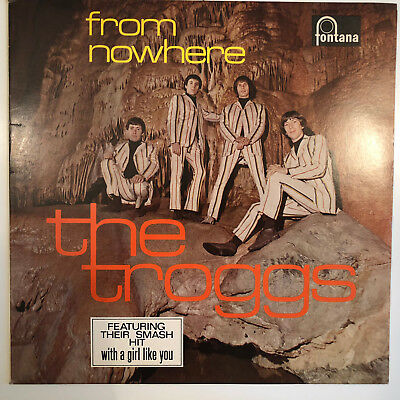 The Troggs - From Nowhere - Fontana ‎– TL 680530(NET) - Vinyl - Nm/NM