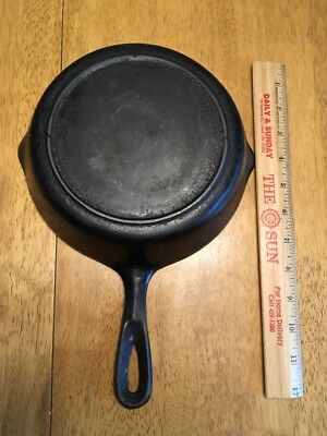 Vintage Griswold Iron Mountain No.5 Cast Iron Skillet Heat Ring 1030
