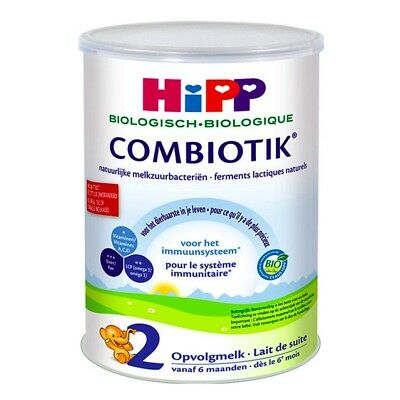 HiPP Organic Combiotic Stage 2 Dutch (the real one) 900g,6 months+ FREE SHIPPING