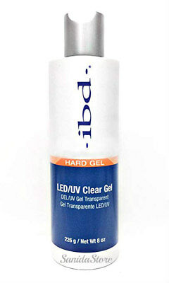 IBD LED/UV CLEAR GEL Hard Gel 8oz/226g #65614