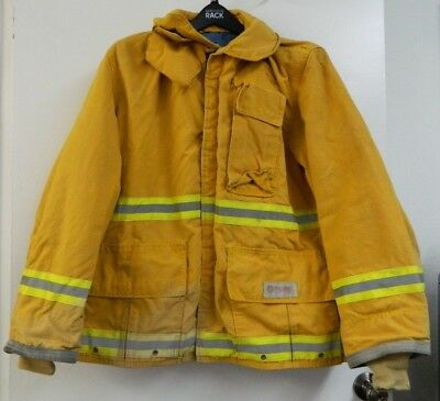 FYREPEL Firefighter Turnout Gear Bunker Padded Jacket Yellow Size X-LARGE #6