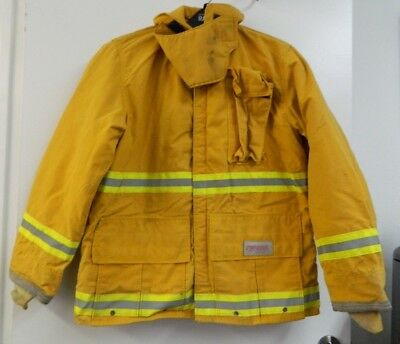 FYREPEL Firefighter Turnout Gear Bunker Padded Jacket Yellow Size MEDIUM #2