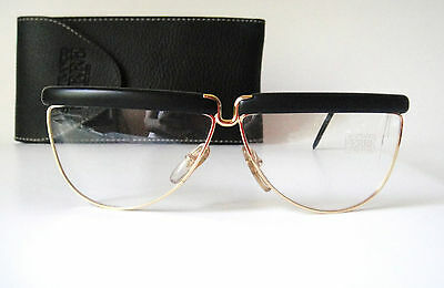 GFF Ferre 61-10 135 Small Medium Gold Design Retro Vintage Sun Glasses Frame Men