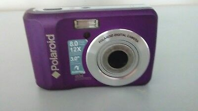 Polaroid I834 8.0 MP Digital Camera - Purple