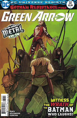 Green Arrow Rebirth #32. 1st Printing