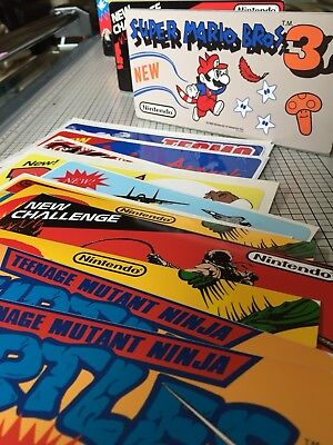 3 Nintendo Playchoice Topper Reproductions, Decal & Stand
