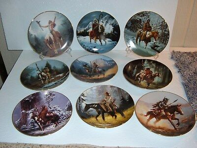 Mystic Warrior Plate Collection by Hamilton Collection