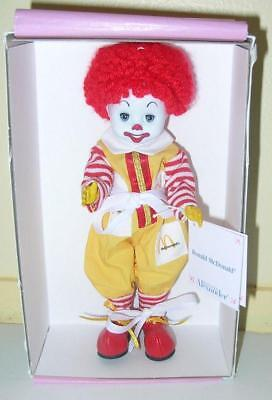 Madame Alexander Ronald McDonald #25280 Never Removed From Box! MINT!
