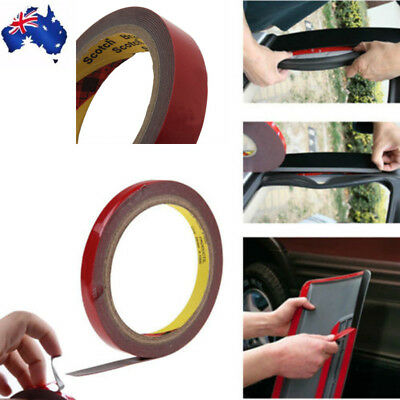 3M Auto Truck Car High Strength Double Sided Foam Attachment Tape 6mm New