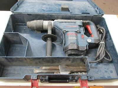 "Bosch 120V 1 9/16"" Combination Hammer #11241EVS w/ Case ~ Fully Tested"
