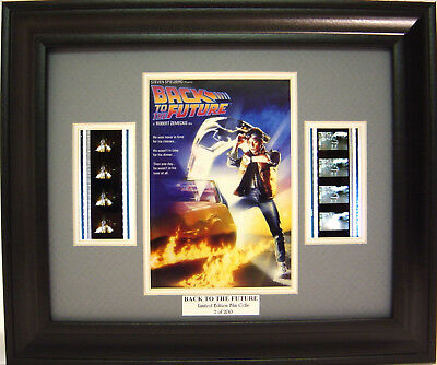 Back To The Future Framed Film Cell Michael J. Fox