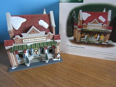 Dept. 56 Christmas In The City Mrs. Stover's Bungalow  Candies Retired 2003 NIB