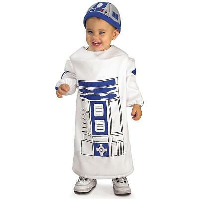 Star Wars Baby Bunting R2-D2 size 24 MO Licensed Costume Oufit Rubie's CHOP