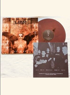 "LIAR limited Colored Vinyl LP [red]  ""Liar's Hell"" 150 copies only! sxe, xxx"