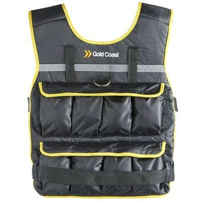 Adjustable Training Exercise Weight Vest 16 Removable Iron & Sand Filed Bags