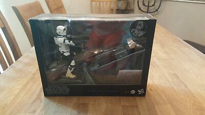Star Wars Hasbro Black Series Speeder Bike OVP