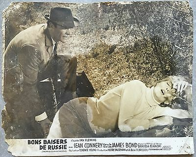 Photo Originale BONS BAISERS DE RUSSIE From Russia with Love CONNERY James Bond*