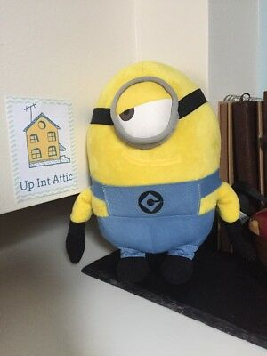 DESPICABLE ME STUART MINION Soft Toy, Collecable, Universal Studios Film, Gift