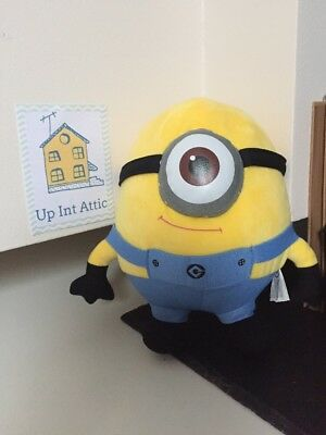 DESPICABLE ME CARL MINION Soft Toy, Collecable, Universal Studios Film, Gift
