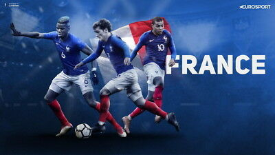 """005 Kylian Mbappe - World Cup 2018 France Soccer Player 42""""x24"""" Poster"""