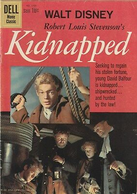 Four Color Number 1101 , Kidnapped. 1960    Movie Apt.