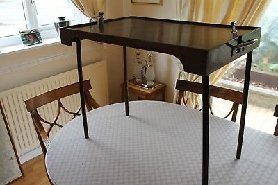 Antique  Victorian   Butlers  Folding  Tray Table