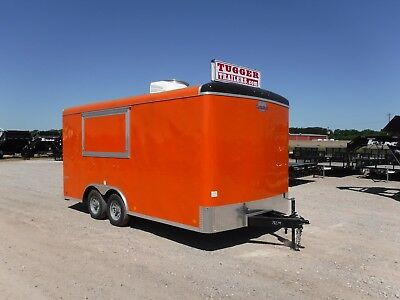 8.5 x 16 16ft Cargo Mate Concession Stand Food Vending Carnival Equip Trailer!!!