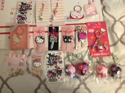 Hello kitty key chains and ect...