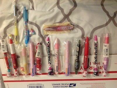 Hello kitty pen set from late 90's and 2000's
