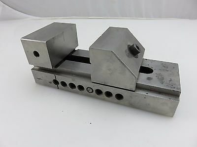 """Machinist Tool & Die Maker Precision Grinding Mill Drill Press Vise 3"""" Wide Jaws"""