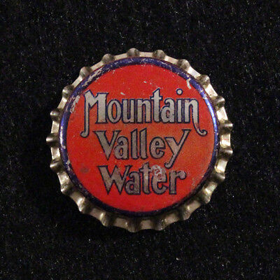 Mountain Valley Water Unused Cork Soda Bottle Cap Hot Springs Arkansas Ar Spring