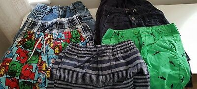 Boys Shorts Bundle Age 6-7 Years Next Ted Baker And Others Excellent Condition
