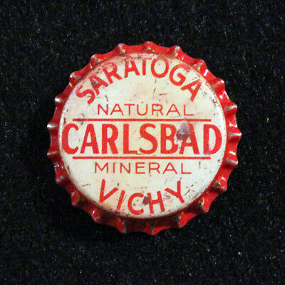 Saratoga Carslbad Mineral Vichy Unused Cork Soda Bottle Cap Springs, New York Ny