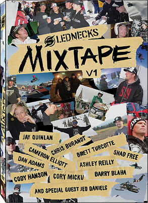 Slednecks Mix Tape Volume 1 Snowmobile DVD