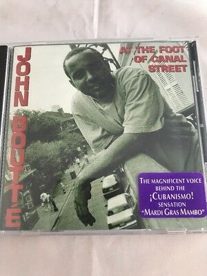 At the Foot of Canal Street by John Boutté (CD, Feb-1999