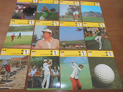 60 Fiches Golf  Editions Rencontre Nicklaus Ballesteros Player  St Andrews