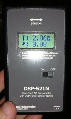 Magnii Technologies DSP-521N EMF meter, discontinued, paranormal, ghost