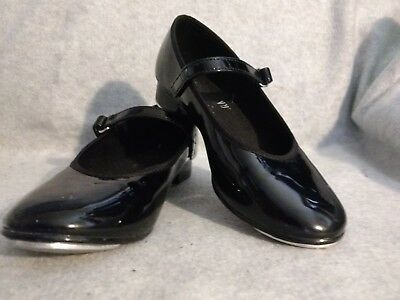 Girls Patent Leather Tap Shoes - 11 1/2 - ABT