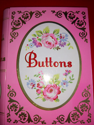 CATH KIDSTON the big book of buttons TIN