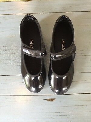 Theatricals Tap Shoes Black Girl's Size 11 Dance