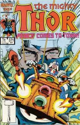 Thor (1966 series) #371 in Near Mint minus condition. Marvel comics