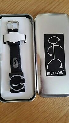 NEW BIOFLOW magnetic HEALING therapy WRISTBAND leather STRAP size S small