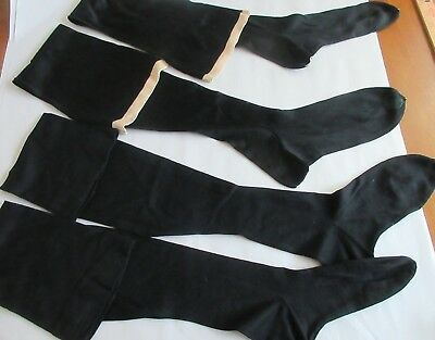 VINTAGE,1920's,HIGH QUALITY,HOISERY,stockings,WOOL & WOOL BLEND,NEW OLD STOCK
