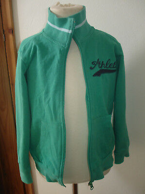 Kanz Boys Green Lightweight Jacket with Athletics Motif Age 6 Years